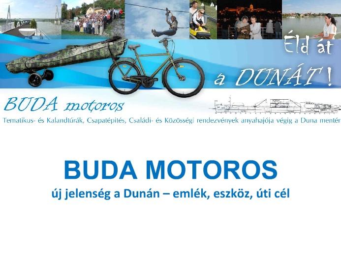 Buda motoros koncepció prezentáció címlap